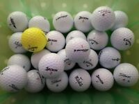 Twenty (25) Lightly Used Golf Balls Assorted Brands VGC - cash on collection from Gosport Hampshire