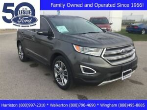 2015 Ford Edge Titanium   AWD   Sold & Serviced by Leslie Motors