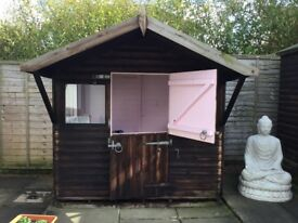 LOVELY SOLID WOODEN WENDY HOUSE!