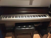 Yahama slimline digital piano with lid YDP S30