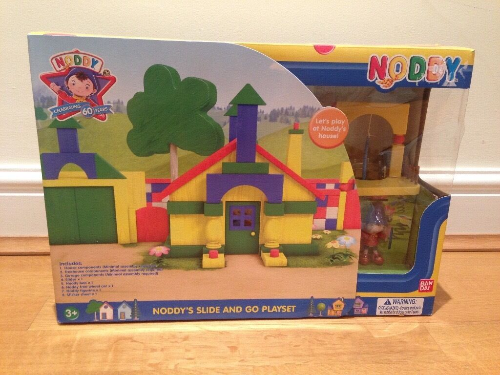 Noddy's Slide and Go Playset - Never opened