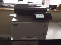 Ricoh Aficio MPC305spf high quality colour Laser/Fax/Scan/Copy