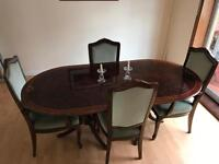 Old dinner table