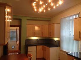 Sketty. Large Ground Floor s/c 1 Bedroom flat. Fully Refurbished.