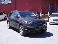2011 Audi Q7 3.0 S-LINE/AWD/B.CAM/3RD ROW/LEATHER/ROOF
