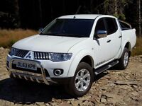 Four by For The Winter Weather 2014 Mitsubishi L200 Warrior 2.5 LWB, 11,000 Miles- Long Warranty,