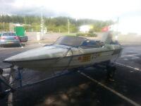 Fletcher Speedboat with 40hp Suzuki Outboard