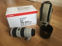 Canon EF 70-200mm F2.8 L IS USM II - excellent condition - serviced