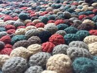 Rug 100% Wool Handmade