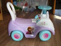 Disney Frozen activity ride-on lights and sounds toddler toy. Very good condition. £10