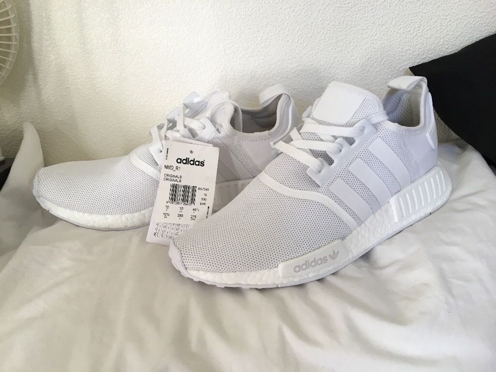 low priced 1cc86 8353c BRAND NEW ADIDAS NMD R1 Triple White | in Ilkley, West Yorkshire | Gumtree