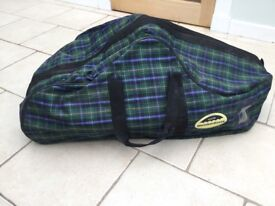 Saddle and bridle bags