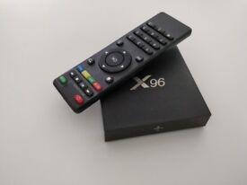 Tiny X96 Android TV box.