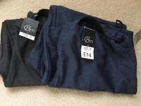 2 pairs BonMarche trousers size 18 - New with tags