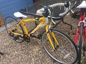 Kids road bike - like new