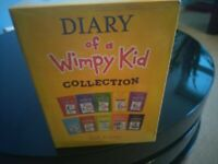 Diary of a Wimpy Kid - Box of 12 Books By Jeff Kinney. Brand New. Collection Only