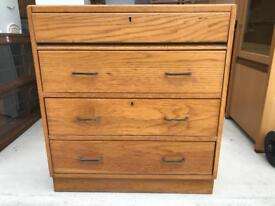 Vintage chest drawers FREE DELIVERY PLYMOUTH AREA