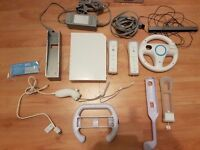 Nintendo Wii and games incl Zumba