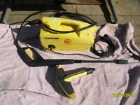 KARCHER 411a pressure washer.all checked over