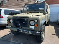 Ex-Military Land Rover Defender 110 Soft Top
