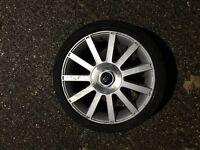 Fiesta st150 alloy wheel