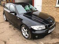 2004 BMW 120D SPORT. MOT MAY. FULL SERVICE HISTORY. WARRANTY!