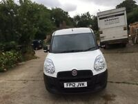 fiat doblo 2012.one company owned.new mot.full service print.clean van.