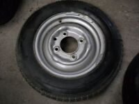 "IFOR WILLIAMS SPARE 13"" WHEEL AND TYRE, NEW"