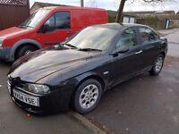 For sale Alfa Romeo 156 ... £500 no offers
