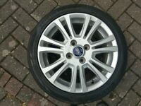 Ford alloy wheel & tyre 195/45R16