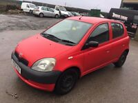 TOYOTA YARIS 2001 5 DOOR 1.0 ****VERY CHEAP ON INSURANCE*****