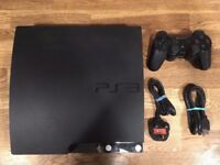 PS3 Console 320gb With Controller, Leads, Loads Games (Please Read Listing Info)