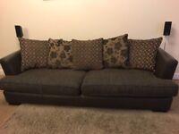 4 Seater sofa & kissing chair