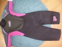 ladies wetsuit size 10 knee length