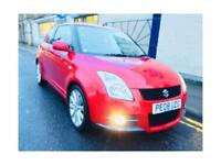 SUZUKI SWIFT 1.6 VVT Sport 3dr (red) 2008
