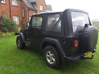 Jeep Wrangler 2.5 Sport Soft top or hard top 4x4 3dr