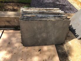 Patio slabs slate for sale - large amount