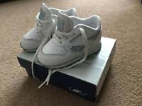 Infant size 4.5 Reebok Trainers