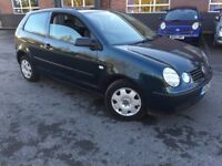 2003 VOLKSWAGEN POLO 1.2CC WITH LONG MOT