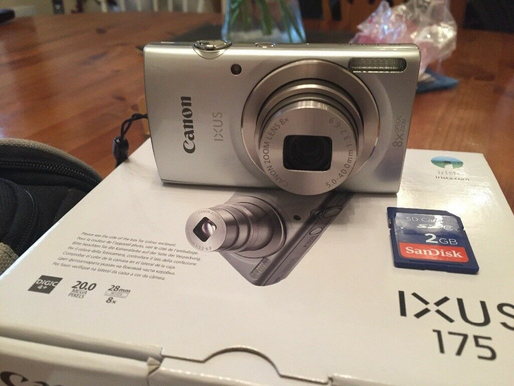 Cannon Ixus 175 In Poole Dorset Gumtree Canon Silver