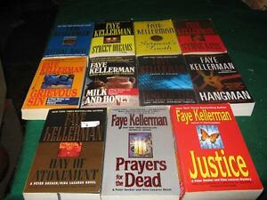 Faye Kellerman books $1 each or $10 for the lot St. John's Newfoundland image 1