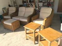 Set of Conservatory furniture (7 piece)