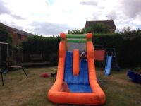 Water slide. Only used 3 times. May need a clean.