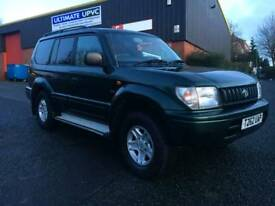 TOYOTA LAND CRUISER COLORADO 3.0 TD VX 4X4 FULLY LOADED 7 SEATER