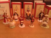 8 Royal Doulton bunnykins for sale