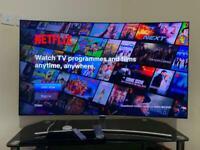 Samsung QE55Q8C 55 inch Curved 4K Ultra HD Premium HDR 1500 Smart QLED TV TV Plus