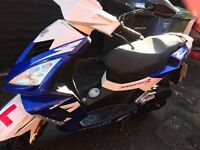 2014 PEUGEOT SPEEDFIGHT 3 50cc MOPED