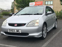 2003 Honda Civic 2.0 i Type R Hatchback 3dr FSH. 2 KEYS.VERY CLEAN EXAMPLE
