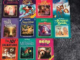 Eleven Classic Walt Disney Books
