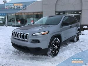2014 Jeep Cherokee Sport - V6 - 4x4 58$/Semaines! *Groupe Remorq